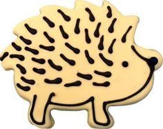 Hedgehog Cookie Cutter measures 5 x 4 inches. Hopefully this hedgehog cutter will make fun cookies that aren't too prickly to eat. Hedgehog Cookie Cutter will be inches deep after one side of Surger Cookies Recipes, Cookie Recipes, Cookie Ideas, Fun Cookies, How To Make Cookies, Making Cookies, Decorated Cookies, Hedgehog Cookies, Teacher Cakes