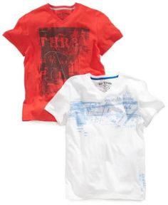 Epic Threads Kids T-Shirt, Boys Graphic V-Neck Tee | 25% OFF
