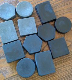 Easy step-by-step instructions (with pictures) on how to make bamboo charcoal soap at home. Much easier than you might think!