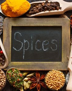 Brug krydderier i din madlavning, for sund mad er nøgleordet i det helbredende køkken