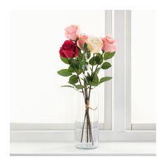 СМИККА Цветок искусственный IKEA Искусственные цветы выглядят как настоящие и не вянут год за годом.