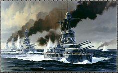 HMS Barham Jutland