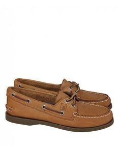 Sperry Womens Tan Sahara Leather Deck Shoe
