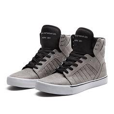 SUPRA SKYTOP | CHARCOAL / BLACK-GREY | Official SUPRA Footwear Site