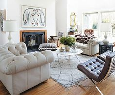 AphroChic: Madeline Weinrib's Home In The Hamptons