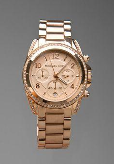 Michael Kors Watch in Rosegold $250.00