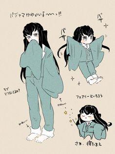 Anime Couples Manga, Manga Anime, Anime Art, Anime Devil, Anime Angel, Demon Slayer, Slayer Anime, Manga Characters, Cute Characters