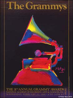 The GRAMMYS 1989  -  Peter Max