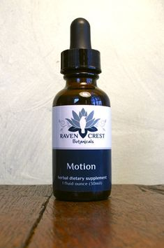 Raven Crest Botanicals Dropper Bottle Product #Labels
