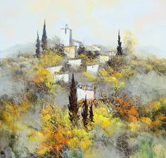 2759 Best images in 2020 Landscape Art, Picasso, Painting Inspiration, Tuscany, Art Pieces, Images, Zen, Photos, Pen And Wash