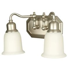 Craftmade 15813BN2 Vanity Light with Frosted Glass Shades, Brushed Nickel Finish Craftmade http://www.amazon.com/dp/B00ECU7GQK/ref=cm_sw_r_pi_dp_0C84ub0V0AK0X