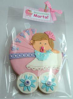 baby girl XXL cookie