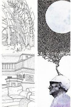 Sketchbook Illustration by  Mateusz Nowakowski