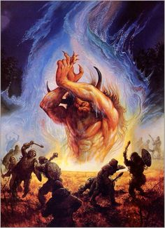 Forgotten Realms by Jeff Easley