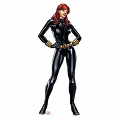 Avengers Assemble Black Widow Lifesized Standup