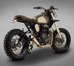 'MUXIMA' Honda FMX650 by Ton-Up Garage