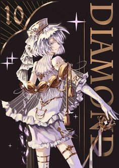 Diamond (Houseki no Kuni) Image - Zerochan Anime Image Board Manga Art, Manga Anime, Anime Art, Overwatch, Character Art, Character Design, Magical Girl, Kawaii Anime, Anime Characters