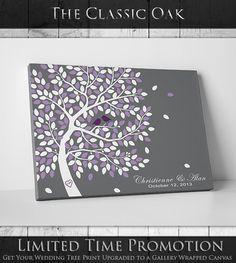 Wedding Guest Book Alternative // Classic by WeddingTreeGuestbook, $64.00
