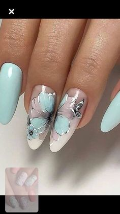 Make an original manicure for Valentine's Day - My Nails Beautiful Nail Art, Gorgeous Nails, Pretty Nails, Chic Nails, Stylish Nails, Flower Nail Designs, Nail Art Designs, Pink Nails, My Nails