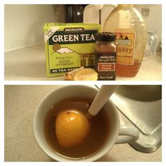 weight loss tea: 1T ground cumin, 1 packet of green tea, half a lemon, 1T honey. add ingredients to a cup of hot water. stir and enjoy! (84 calories)