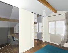r habilitation d 39 une maison et am nagement des combles kitchenette dissimul e dans bureau. Black Bedroom Furniture Sets. Home Design Ideas