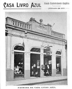 Pró-Memória de Campinas-SP: Curiosidades: Casa Livro Azul Louvre, Building, Prints, Landscapes, Heart, Vintage Posters, Old Houses, Train, Fotografia