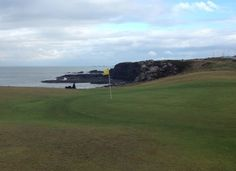 Fifth green at Portstewart Old Course
