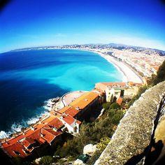 Nice - frenchriviera cotedazur view panoramic