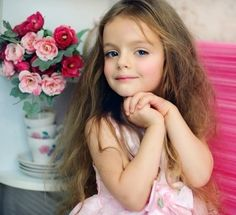 The youngest female model from Russia,Milan,a girl like an angel.