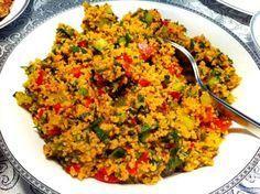 Kisir recipe - Samantha Home Appetizer Salads, Appetizer Recipes, Salad Recipes, Kitchen Recipes, Cooking Recipes, Turkish Recipes, Ethnic Recipes, Bulgur Salad, Herbs