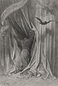 The Raven by Edgar Allan Poe Recited by Christopher Walkin Illustration by Gustave Doré