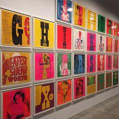 Corita Kent 1968 Circus Alphabet. What great inspiration!