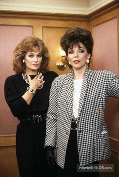 Dynasty publicity still of Joan Collins & Stephanie Beacham