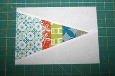 scrappy triangles - a quilt block tutorial