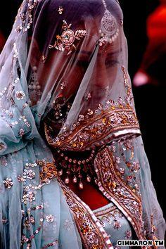 Under the Veil – hauteshaadidotcom Indian Bridal Fashion, Asian Fashion, Indian Dresses, Indian Outfits, Indian Saris, Desi Wedding, Desi Bride, India Wedding, Wedding Hijab