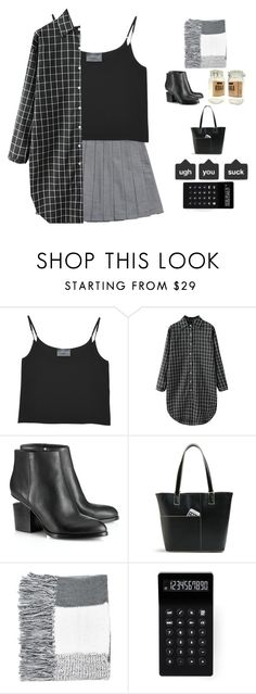 """""""Everything is grey, his hair, his smoke, his dreams ........"""" by blushingfreckles ❤ liked on Polyvore featuring Antipodium, Alexander Wang, Vera Bradley, Topshop and LEXON"""