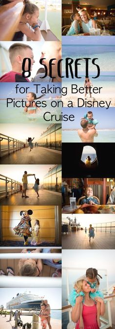 8 Secrets for Taking Better Pictures on Your Disney Cruise Are you heading on a Disney Cruise? Do you want to know my 8 secrets for taking better pictures Disney Magic Cruise, Disney Wonder Cruise, Disney Fantasy Cruise, Disney Cruise Ships, Disney Tips, Disney Vacations, Disney Land, Disney Travel, Walt Disney