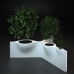 """TriTree"" concept in Corian®, design and rendering by Architectural Bureau Arch Group //"