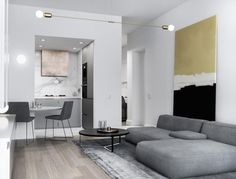 No55 is Extravagauza Studio's answer to a limited living space in Britain - CAANdesign | Architecture and home design blog
