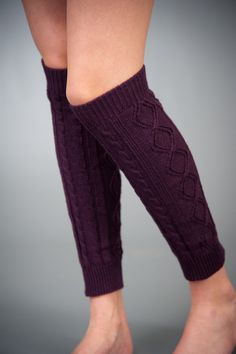 purple leg warmers.. $12 these would go well with light colored boots or black