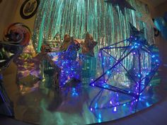 Dessert table - Galactic space Galaxy girls party