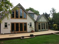 If you really have to be matchy matchy and perfect, this is the way to go. So much for the planners. Extension & Refurbishment – Before and After | Stoneleigh Architectural - Wolverhampton Architectural Services