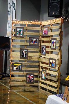 Une décoration DIY pour votre mariage #palette #mariage