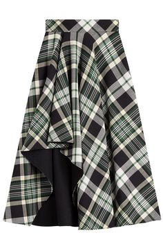 Tartan Midi Skirt detail 0