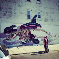 Nychos New Mural In New York City, USA StreetArtNews