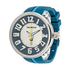 {Unisex Mystery Gulliver Watch in Blue, Silver & Yellow} Tendence - $65 regular $229
