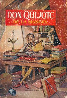 Don Quijote de la Mancha / il. A. Bruzón (1959) - ED/Quijotes 1959/1