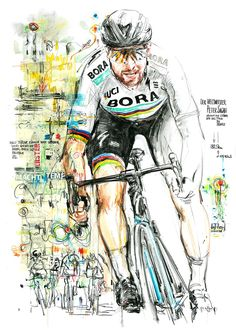 Cycling Books, Cycling Art, Bicycle Art, Retro, Tours, Sports News, Spin, Illustration, Artwork