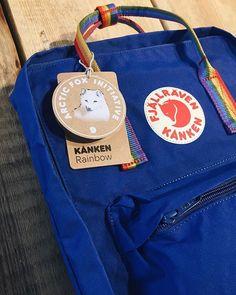 Arctic fox initiative the rainbow bag Mochila Kanken, Kanken Backpack, Fjallraven, Aesthetic Backpack, Rainbow Bag, Halloween Zombie, Arctic Fox, My Bags, Anniversary Gifts