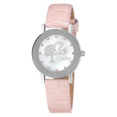 Pretty in Pink...    Barbie Pink Swarovski Crystal Accented Watch...
